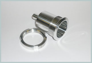 aluminium cnc turning
