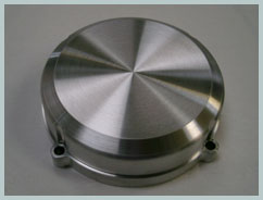 aluminium cnc machined maico ignition cover